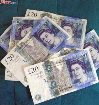 Curs valutar: Euro incepe sa creasca. Lira sterlina nu se opreste din avant
