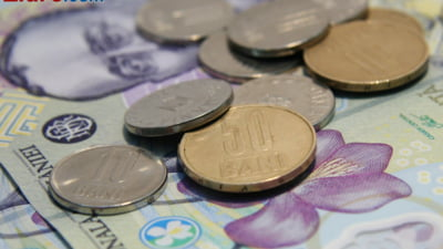 Curs valutar: Leul, in avantaj fata de euro si dolar