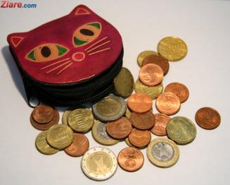 Curs valutar: Saptamana buna pentru leu. Euro scade si azi