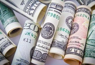 Curs valutar: Doar dolarul creste in fata leului