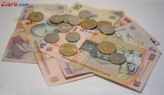 Curs valutar: Euro si dolarul, in scadere usoara