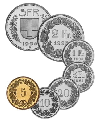 Curs valutar: Francul elvetian a scazut, dar ramane peste euro