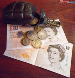 Curs valutar: In ziua Brexit-ului, lira sterlina creste vertiginos