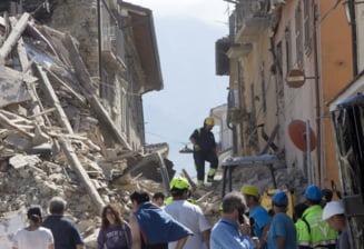 Cutremur devastator in Italia: Un roman a murit si doi au fost raniti. Alti 9 sunt dati disparuti