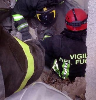 Cutremur devastator in Italia: Un baietel roman de 11 ani a fost gasit mort sub gramezile de moloz