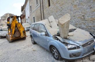 Cutremure in Italia: 20 de replici intr-o zi. Mii de oameni dorm in strada de miercuri