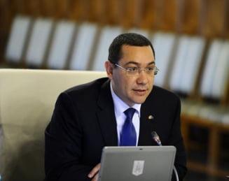 Demisii pe banda rulanta din Guvern: Prima reactie a lui Ponta