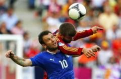 EURO 2012: Egal spectaculos intre Spania si Italia