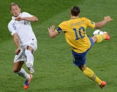 EURO 2012: Franta pierde cu Suedia, dar se califica in sferturi (Video)
