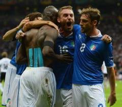 EURO 2012: Italia a invins Germania si merge in finala de la Kiev (Video)