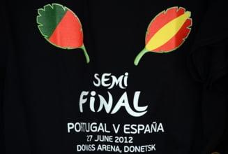 EURO 2012: Spania - Portugalia, prima semifinala