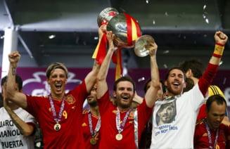 EURO 2012: Spania, in delir dupa victoria zdrobitoare cu Italia (Galerie foto)