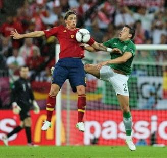 EURO 2012: Spania, victorie clara cu Irlanda