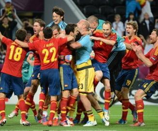 EURO 2012: Spania merge in finala dupa o victorie la penalti cu Portugalia (Video)