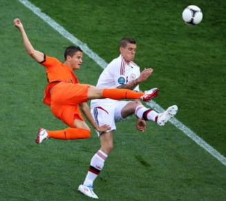 EURO 2012: Olanda - Danemarca 0-1, prima surpriza uriasa