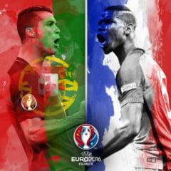 EURO 2016: Avancronica finalei Franta - Portugalia