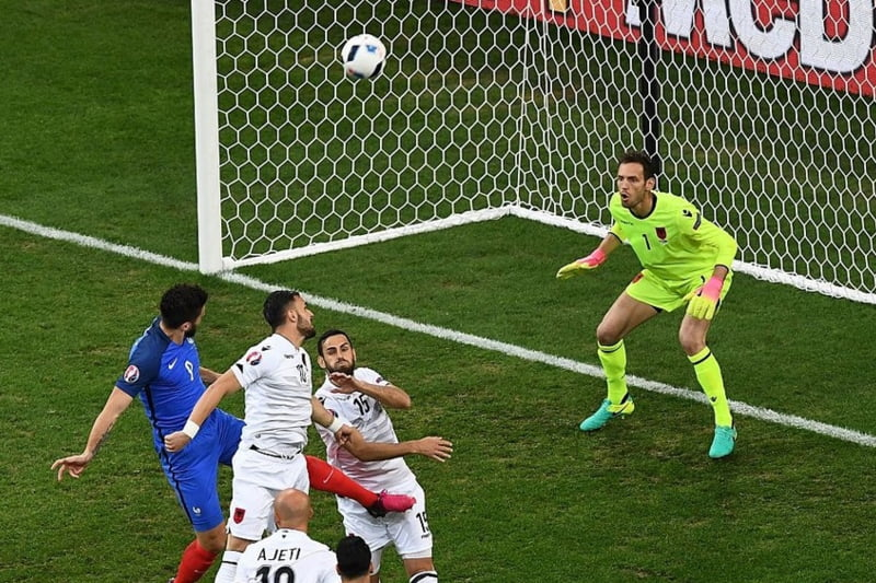 EURO 2016: Franta se califica in optimi dupa o victorie chinuita cu Albania