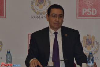 Editorial: Cu Victor Ponta la gradinita istoriei