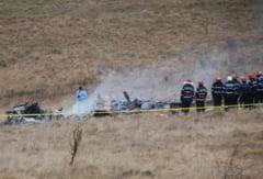 Elicopter prabusit in Sibiu, opt morti: Dosar penal pentru ucidere din culpa