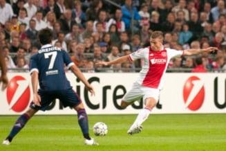 Europa League: Ajax invinge Lyon la scor si e aproape de calificarea in finala