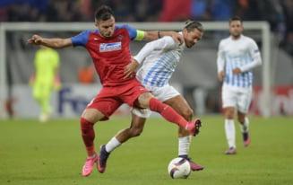 Europa League: Steaua face inca un pas gresit. Sansele de calificare scad considerabil