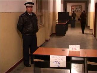 Europarlamentare 2009: Paza sectiilor de votare incepe de sambata