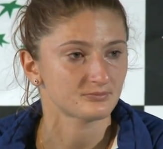 Fed Cup, Romania - Spania: Irina Begu a izbucnit in lacrimi - ce spune despre infrangere