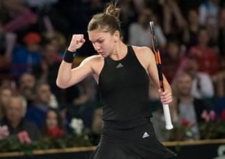 Fed Cup, Romania - Spania: Simona Halep si-a zdrobit adversara