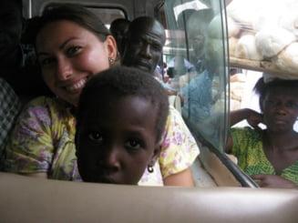Flori de colt: Povestea incredibila a unui voluntar in Ghana