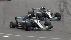 Formula 1: Hamilton castiga o cursa nebuna la Baku, decisa in ultimele tururi