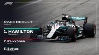 Formula 1: Hamilton castiga pe circuitul de casa al lui Ferrari, la Monza