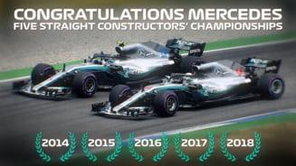 Formula 1: Hamilton castiga si in Brazilia, iar Mercedes devine campioana mondiala la constructori