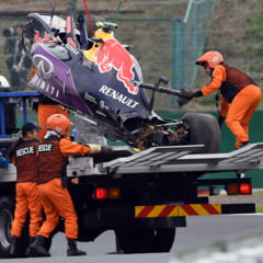 Formula 1: Accident ingrozitor in calificarile Marelui Premiu al Japoniei (Video)