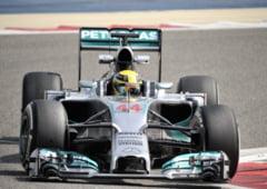 Formula 1: Hamilton castiga o cursa dominata de la inceput pana la sfarsit