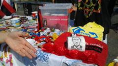 Fotografia zilei: Chipul lui Vladimir Putin, pe hartie igienica