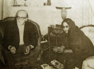 Fotografia zilei: Mircea Eliade si Maitreyi Devi