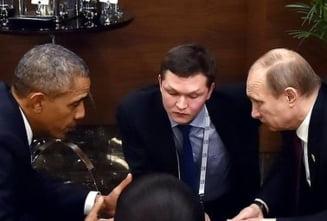 Fotografia zilei: Obama si Putin, fata in fata