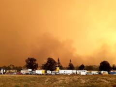 Fotografia zilei: Incendiile din Australia, vazute din spatiu