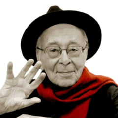 Fotografia zilei: Mesajul lui Mihai Sora, la 101 ani - Cand nedreptatea devine lege, rezistenta devine o datorie