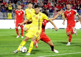 Grupa Romaniei din Nations League: Rezultate, clasament si program. Romania a cazut pe 3 dupa victoria Muntenegrului