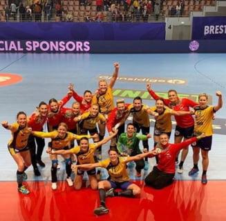 Grupa Romaniei la Europeanul de handbal feminin: Rezultatele, clasamentul final si componenta Grupei Principale