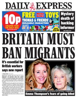 Huffington Post: Romania, multumim! Cum profita tabloidele britanice de pe urma romanilor