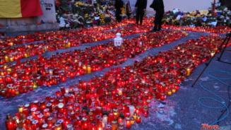 Incendiu in Colectiv Flori si mesaje tulburatoare in fata clubului, la o saptamana de la tragedie