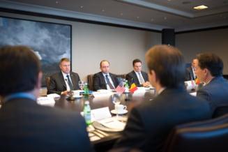 Iohannis, la New York: Lobby la multinationale, printre care Chevron si ExxonMobil
