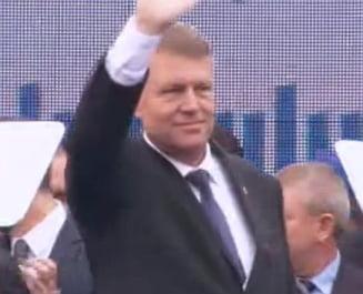 Iohannis si-a lansat candidatura: Romania sa devina tara lucrului bine facut!