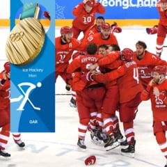Jocurile Olimpice: Scandal dupa finala masculina de hochei. Ce reactie au avut rusii cand s-a intonat imnul olimpic