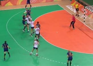 Jocurile Olimpice 2016: Romania, invinsa dramatic de Norvegia, este eliminata - UPDATE