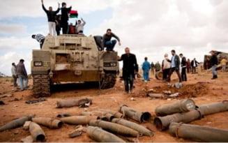 Libia: Buncarul lui Gaddafi, lovit de bombele aliatilor