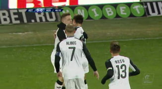 Liga 1: Astra castiga la limita cu Hermannstadt, dupa un gol splendid si se califica in play-off