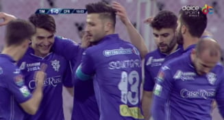 Liga 1: CFR Cluj, egal dramatic la Poli Timisoara, in play-out